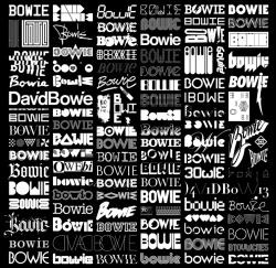 jubaloodesign:  The Changing Faces of Bowie | Blam & 100 contributors