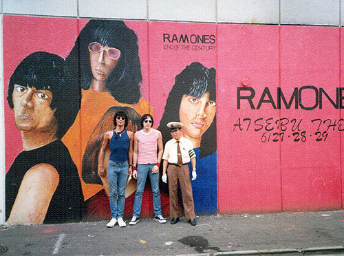 cretin-family:  Dee Dee and Marky Ramone