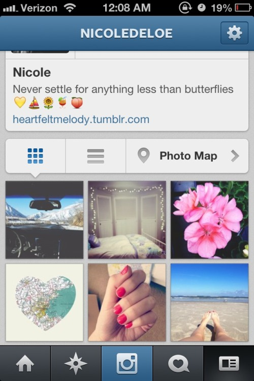 Follow me on insta! @nicoledeloe <3