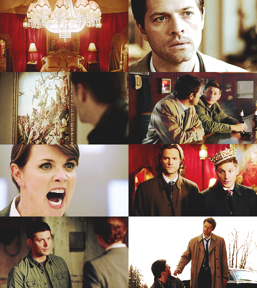destiel + anastasia au; asked by anonymous