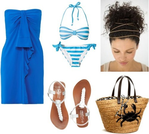 Danielle  inspired for a beach day/ day at the pool I forgot to put names in these sorry! —Alexa