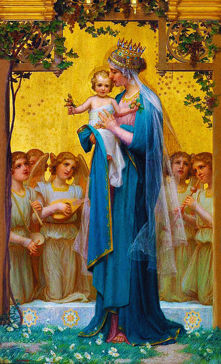 maryscompass:  Some of my favorite pictures of Mama Mary. :)
