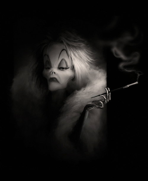 all-about-villains:  Cruella by *AVallois