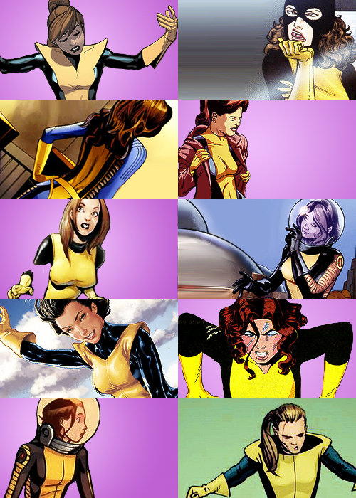sarafena:  Screencap Meme → Dress Me Up          ↳ Kitty Pryde ❋ X-Suit (requested by: phantasyandnarratives)