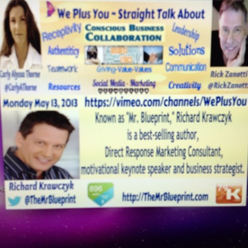 carlyalyssathorne:  We Plus You interview w/ Richard Krawczyk http://Carlyalyssathorne.com/?p=896