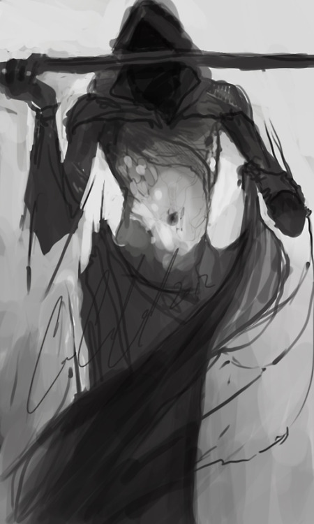 fetalnightmare:  Death Sketch