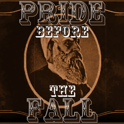 "Pride Before the Fall [listen]  01. ""Icarus"" - Jason Webley02. ""One More Notch"" - Murder by Death03. ""Don't Drink the Water"" - Dave Matthews Band04. ""The Mayor"" - Rasputina05. ""For God and Country"" - The Smashing Pumpkins06. ""In the Flesh"" - Pink Floyd07. ""God Given"" - Nine Inch Nails08. ""POWER"" - Kanye West09. ""United States"" - The Smashing Pumpkins10. ""Draconian Crackdown"" - Rasputina   ""The Lord forgives everything, but I'm just a prophet—so I don't have to."""