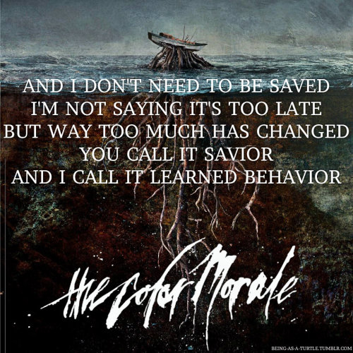 countersharts:  Saviorself | The Color Morale