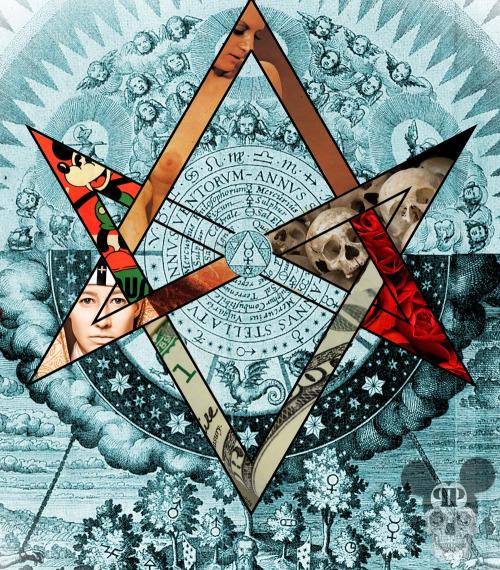 unicursal hexagram Crowley sacred geometry Thelema OTO AA
