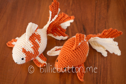 yarn-over:  Fancy Goldfish pattern <  Eeeeeeee! Fishyyyyyy!