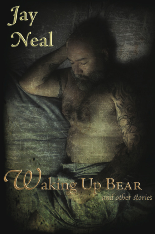 And since the cover of my book of stories, Waking Up Bear, didn't appear a couple of posts back when I answered a question about where to find some of my stories, here it is in most of its glory. I say that because the cover looks and feels much sexier in person. Honestly!