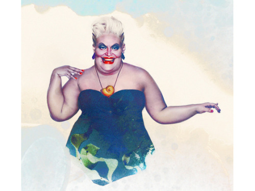 ihateupeople:  Ursula from the Little Mermaid