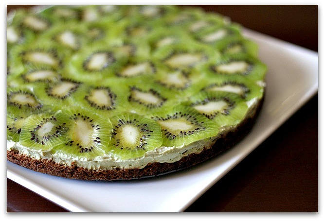 Avocado-Lime Tart, Gluten Free and Sugar Free