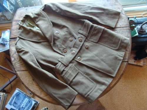 WWII Wool Mackinaw. Found.