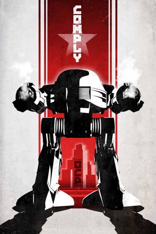 Robocop by DirtyGreatPixel  Available to buy at my Etsy. Artist: Facebook / Tumblr  via ianbrooks
