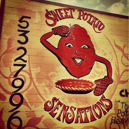 whatsgoinondetroit:  #sweetpotatosensations in #brightmoor in #detroit Yes yes yes!