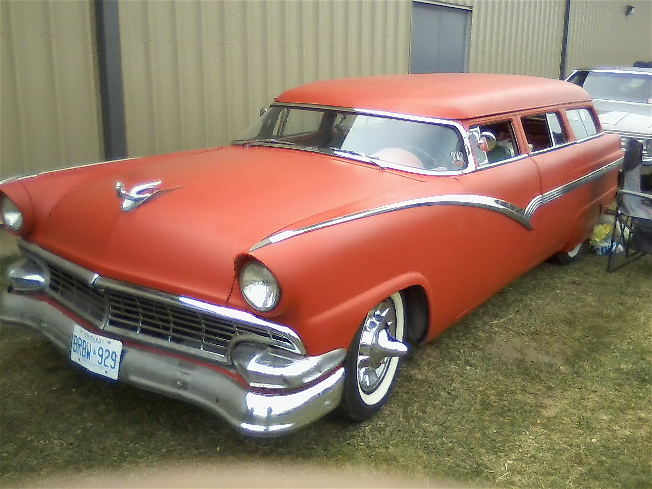 the-real-sasquatch:  chopped '56 ford wagon, fuck yes, perfection