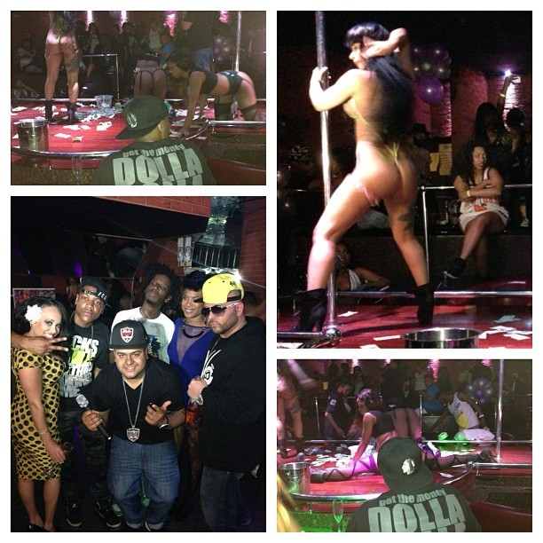 Recap of last nights taping with #BlackInkCrew judging the twerk contest @divasclubnyc. S/o to #VH1 letting me be apart of this!! #100s50s20s  #iLoveTheStrippers #TheyLoveMeBackToo #AssAssAssAssAssAssAss #SomebodyRentGotPaid