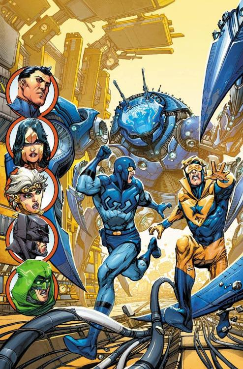 bear1na:  Justice League 3000 - Booster Gold and Blue Beetle by Kevin Maguire