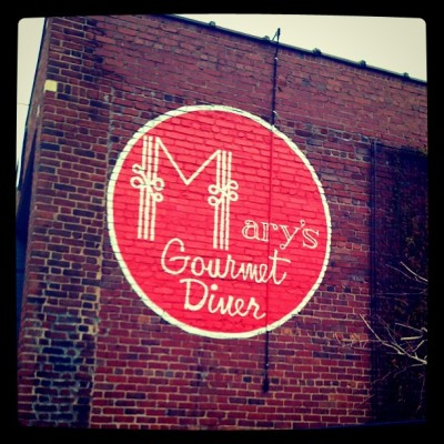 Oh snap. #yum (at mary's of course!)