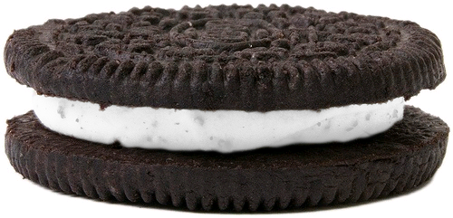 ailurophilist:  Translucent oreo!filling turns color to your blog. Made by ailurophilist