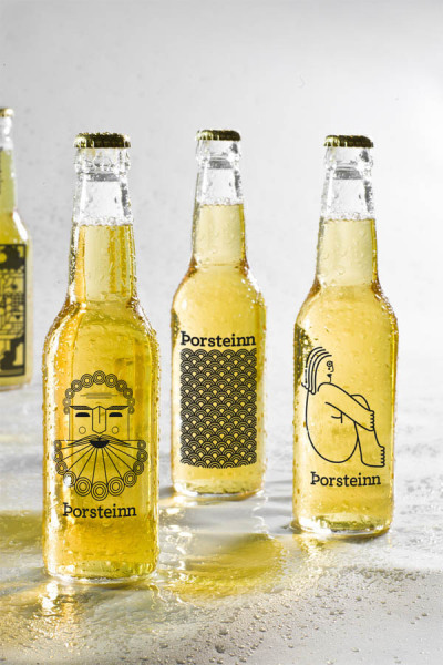 (via weandthecolor) Branding Concept. A micro-brewery branding and packaging concept by Þorleifur Gunnar Gíslason, Hlynur Ingólfsson, and Geir Olafsson.   Distinctive and interesting!
