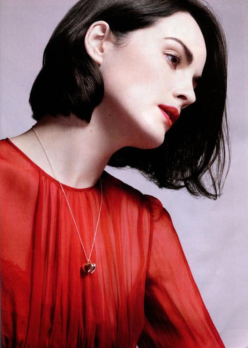 Michelle Dockery in InStyle US (February 2013)