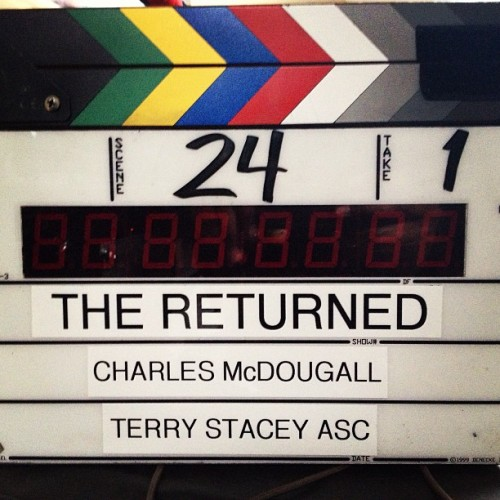 First Day Of Shooting! #TheReturned#ABC