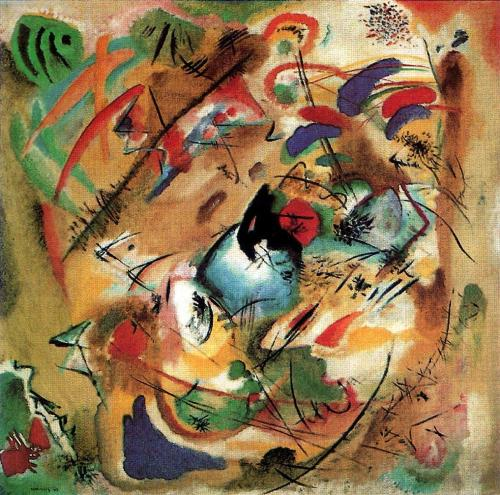 Improvisation dreamy, Artist: Wassily Kandinsky, oil painting