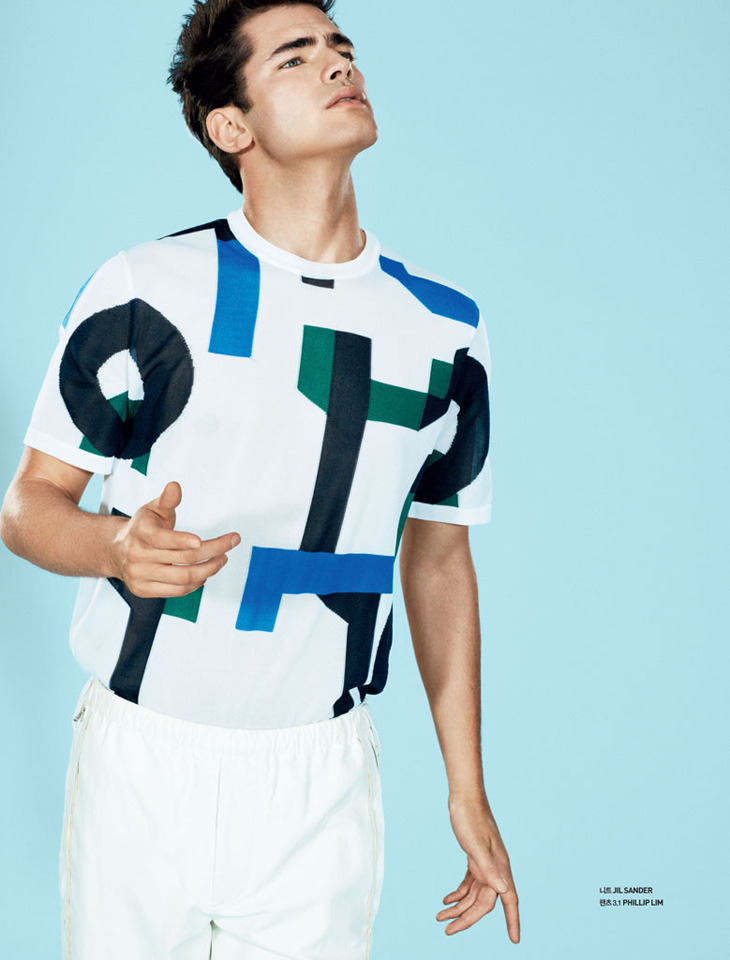 "homme—models:  ""Sean, oh!""  by David Roemer for South Korea's GQ Style."