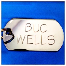 Buc's new and improved name tag! 🐶🙆 #PicFrame #buc