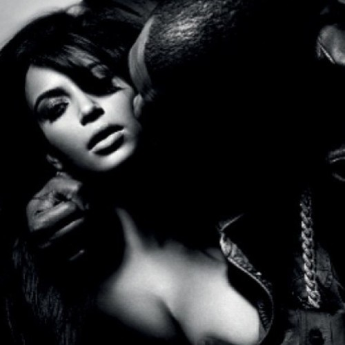 I like this shot of #KimKardashian and #KanyeWest in L'Officiel Homme magazine 🔥🔥 ❤❤