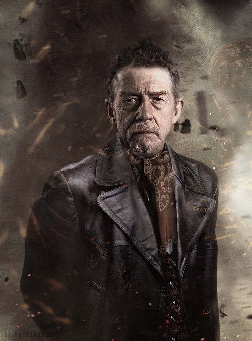 skinnyglasses:  Introducing John Hurt as The Doctor  This is just a quick manip of how John Hurt may look when we next see him. Nothing too fancy, but it came out looking great. Urm, that's about it.