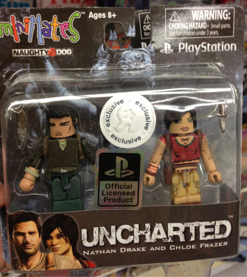 Uncharted minimates- they exist!