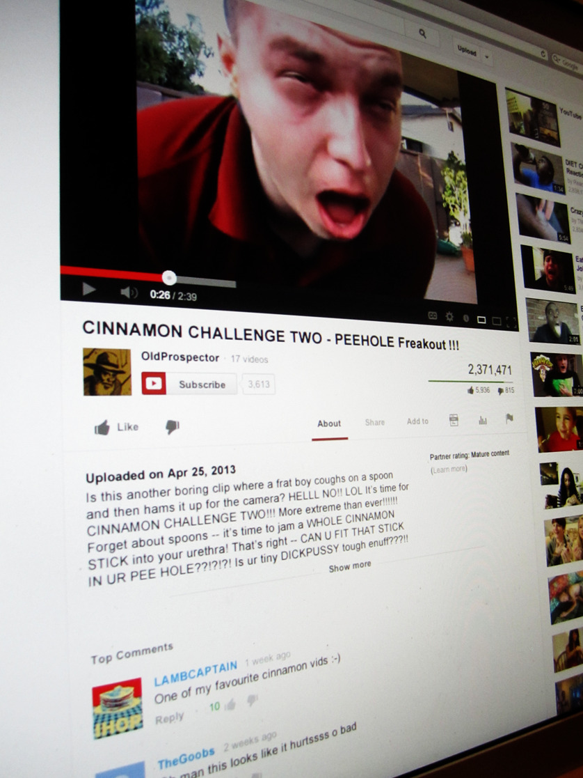CINNAMON CHALLENGE TWO