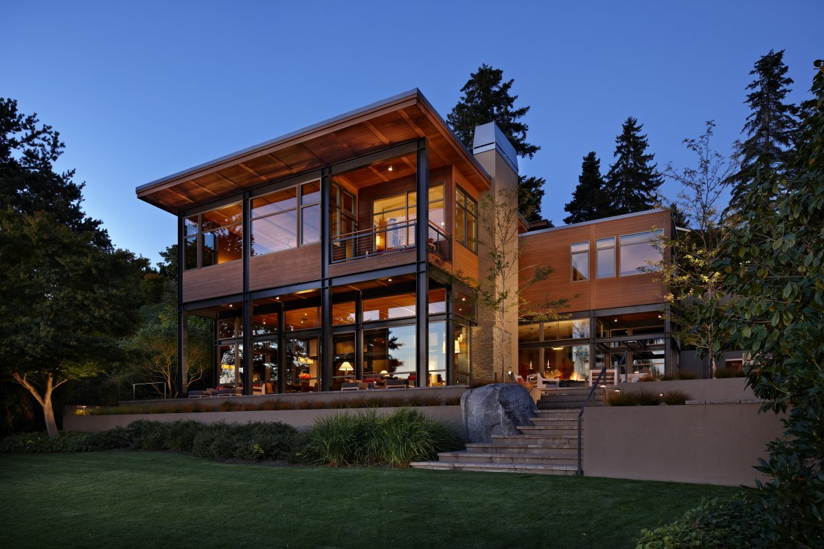 magnificent-mansions:  Lake House 2 designed by Seattle architecture firm McClellan Architects.