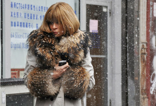 blowupthepokies:  Anna Wintour - my idol