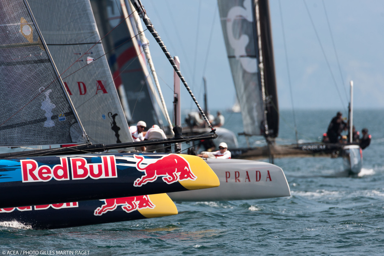 Race Day 1 - ACWS Naples 1400 CEST live broadcast on www.youtube.com/americascup
