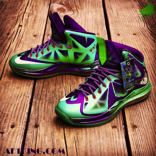 Jaded Hulk Nike sneakers