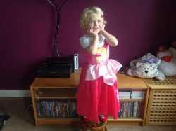 """stfueverything:  ramsexalicious:  mrscriss2012:  This is my son, Chester, who is nearly 4. He was invited to his friend Chloe's birthday party today, the theme was prince and princesses. He asked if he could go as Sleeping Beauty, so I bought him a dress and put a cute little clip in his hair. We arrived at the party to the following comments from the adults present: """"Oh that is just cruel."""" """"Why did you make him wear a dress?"""" """"Poor little man, what's your mummy playing at?"""" """"He's going to hate you when he grows up."""" """"No way I'd let my son dress like a girl."""" The fact is, Chester is almost completely gender neutral. I let him wear what he wants, be it boys or girls clothes, and he plays with whatever toys he likes. This usually involves him holding tea parties while wearing his pink Minnie Mouse top, jeans and a tiara. The guests are more often than not a mixture of Winnie The Pooh characters, dinosaurs, Barbie, Dora and solders, and they're usually transported in his favorite fire engine. When my husband arrived at the party later on, he was subjected to endless ridicul"""