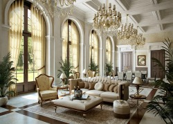 homedesigning:  Luxurious Grand Interior Design