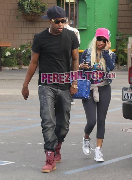 Nicki Minaj - Tagged photo of Nicki Minaj & Scaffbeezy spotted leaving at Paradise Cove!