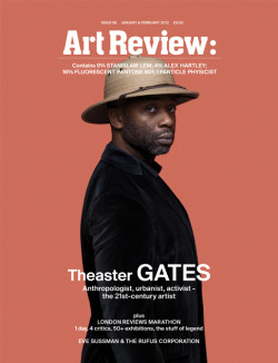 Theaster Gates for Art Review photo by Tim Gutt