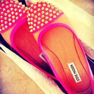 Inlove with my new flats. 🎀👍😊