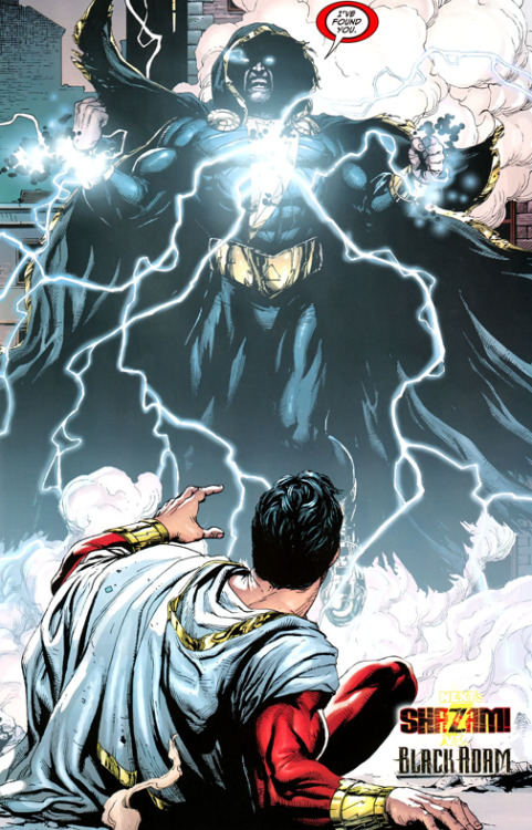 Black Adam has always been a bad ass.