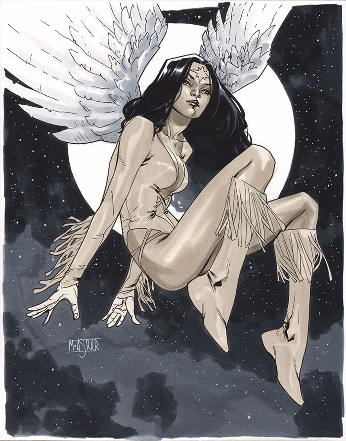 mahmudasrar:  Dawnstar - Comic Action Essen 2012 Pre-Show Commission