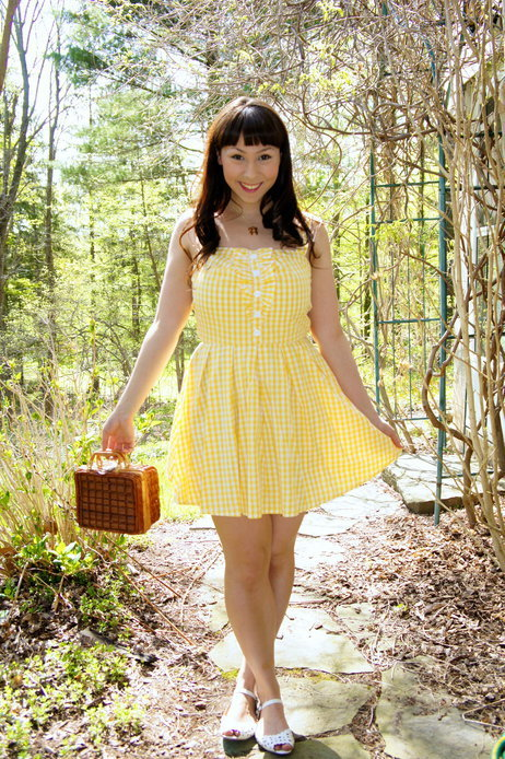 What will you wear on your first picnic of the season? Via the ModCloth Style Gallery.