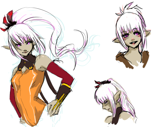 And some Jayce doodles. Do I draw her too much? Probably but I don't care. She's such a hottie wowee