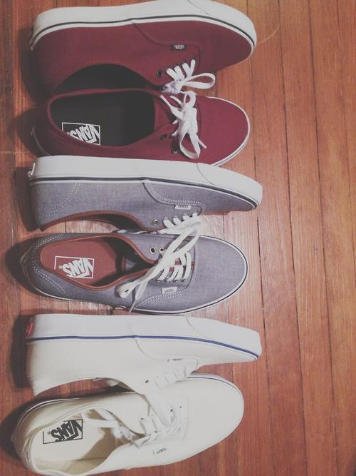 rejective:  got my first pair of vans yesterday yay