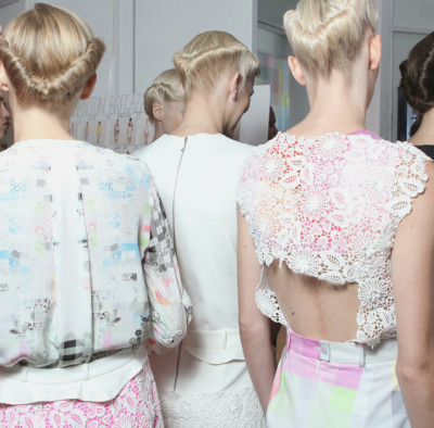 couture-lumineuse:  Preen S/S 2012, London Fashion Week